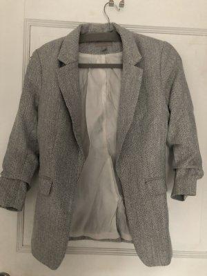 H&M Blazer grau Gr. 36