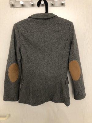 H&M Blazer sweat gris-brun