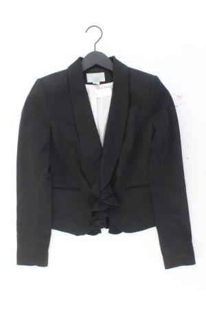 H&M Blazer Größe 38 schwarz aus Polyester
