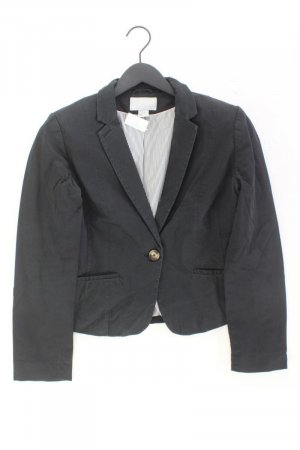 H&M Blazer Größe 40 schwarz aus Baumwolle