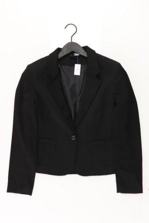 H&M Blazer zwart Polyester