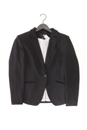 H&M Blazer Größe 40 schwarz aus Polyester