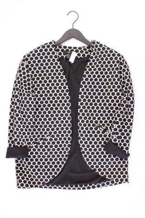 H&M Blazer Größe S gepunktet neuwertig schwarz aus Polyester