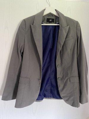 H&M Blazer in grau Gr. 36