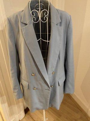 H&M Blazer in hellblau