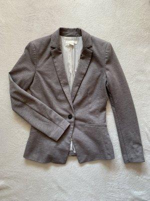 H&M Blazer Jacke grau 36 S