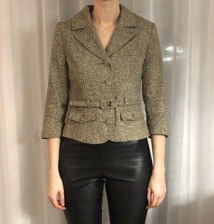 H&M Blazer Jacket grüner Blazer Business Blazer Klassischer Blazer Wolle Classic