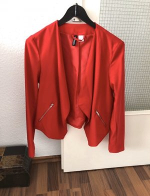 H&M Blazer sweat rouge