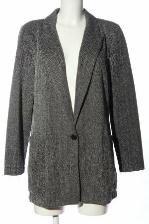 H&M Jersey Blazer gris oscuro-gris