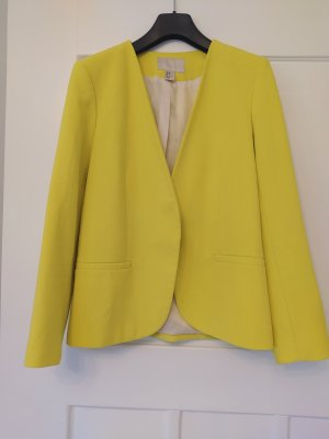 H&M Blazer Neon Gelb