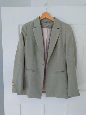 H&M Jersey Blazer sage green