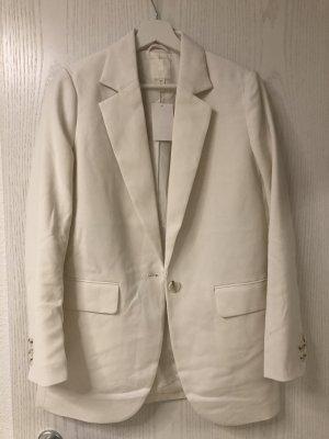 H&M Blazer weiß