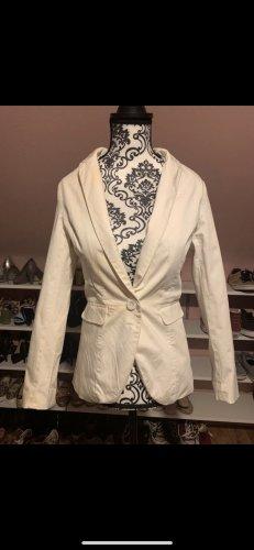H&m Blazer weiß elegant