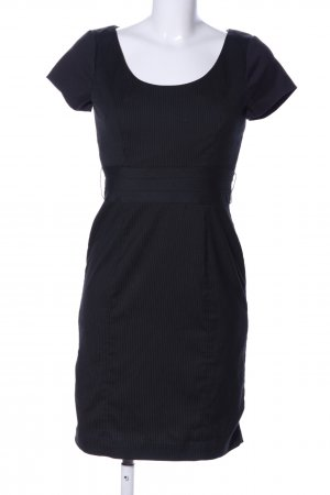 H&M Bleistiftkleid schwarz Allover-Druck Business-Look