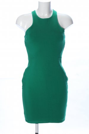 H&M Kokerjurk groen casual uitstraling
