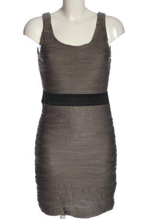 H&M Bleistiftkleid braun-schwarz Elegant