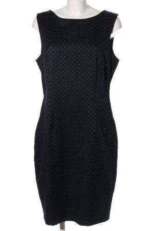 H&M Falda estilo lápiz negro estampado repetido sobre toda la superficie