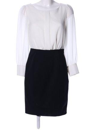 H&M Falda estilo lápiz blanco-negro estilo «business»