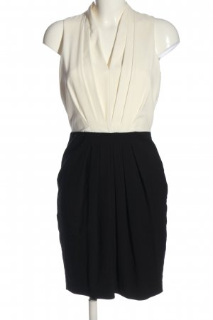 H&M Bleistiftkleid schwarz-wollweiß Elegant