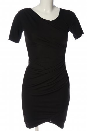 H&M Kokerjurk zwart casual uitstraling
