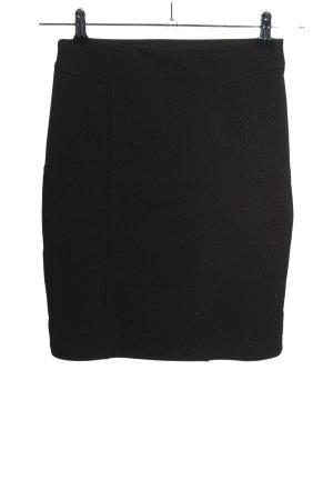 H&M Bleistiftrock schwarz Elegant