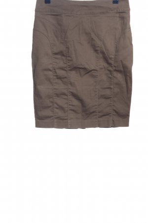 H&M Bleistiftrock braun Casual-Look