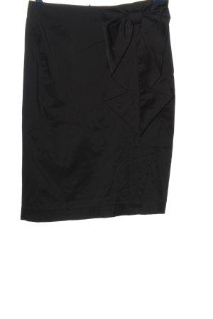 H&M Bleistiftrock schwarz Business-Look