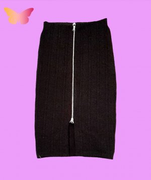 H&M Cargo Skirt black