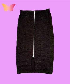 H&M Falda estilo cargo negro