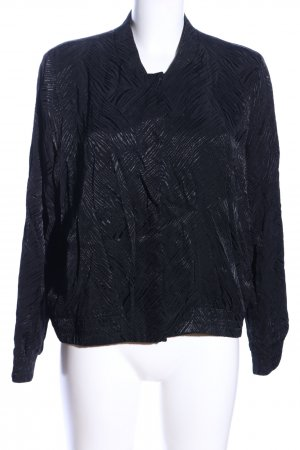 H&M Blouson black allover print business style
