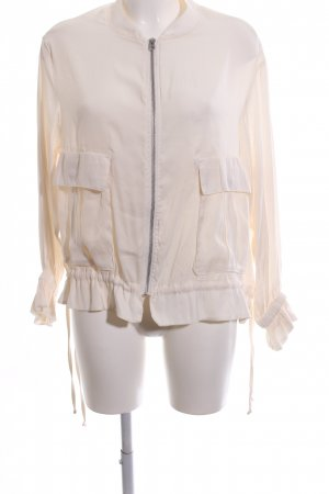 H&M Blouson cream casual look