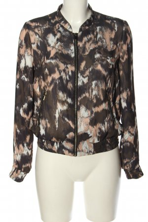 H&M Blouson abstraktes Muster Casual-Look