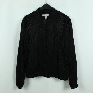 H&M Blusón negro Viscosa