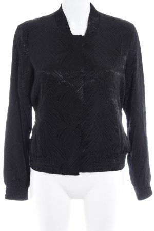 H&M Blouson black graphic pattern casual look