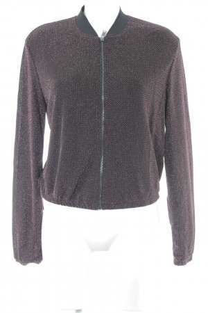 H&M Blouson black-magenta casual look