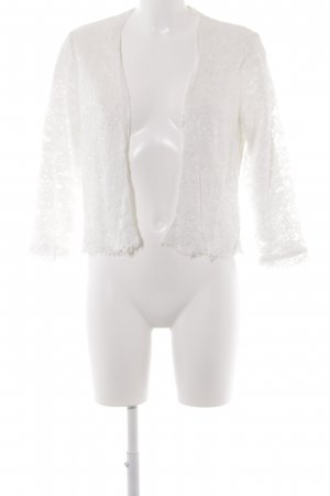 H&M Blouson white lace look