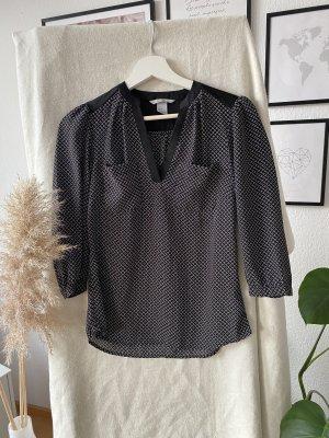 H&M Zijden blouse zwart