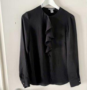 H&M Blusa brillante nero