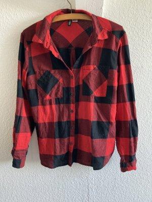H&M Divided Camicia a scacchi multicolore