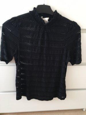 H&M Davantino (per blusa) nero Cotone