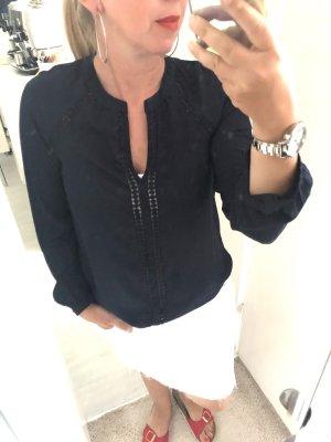 H&M Bluzka jeansowa ciemnoniebieski