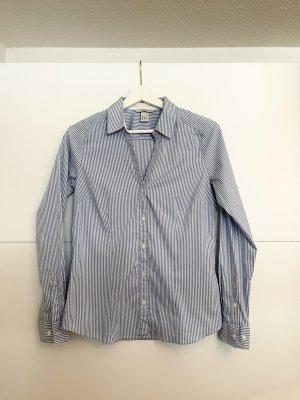 H&M Camicetta a maniche lunghe bianco-blu
