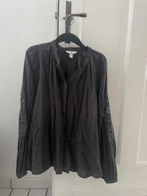 H&M Long Sleeve Blouse anthracite