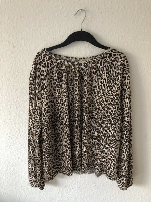 H&M Bluse im Leopardenmuster