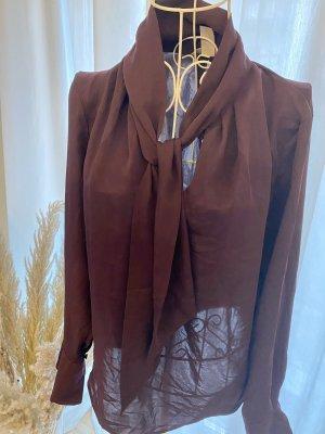 H&M Bluse in Lila mit Schluppe