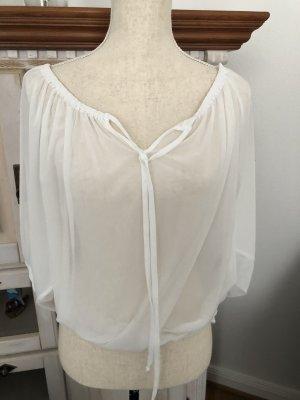 H&M Bluse in weiß, Gr. S, neu