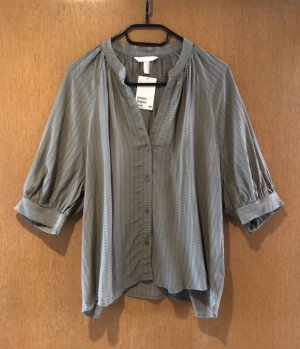 H&M Bluse Khaki gr. S Blogger neu