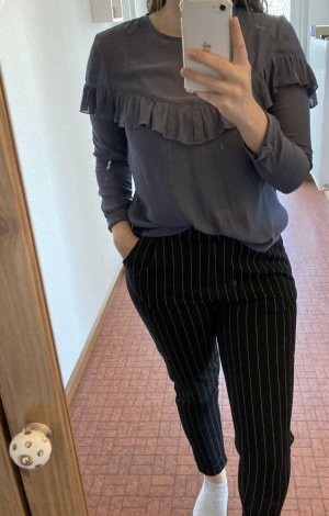 H&M Bluse Langarmshirt