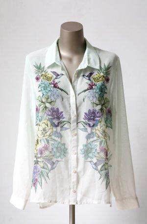 H&M Transparante blouse veelkleurig Polyester