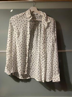 H&M Bluse mit Herzen